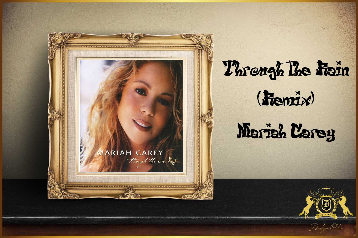 JoeとKelly Priceも援護射撃!Mariah Careyの名曲『Through The Rain』のリミックス